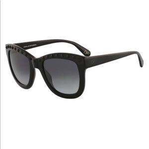 """DVF Studded Sunnies """"Haley"""" Sunglasses"""